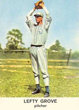 1961 Golden Press Lefty Grove #17 Baseball Card