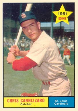1961 Topps Chris Cannizzaro #118 Baseball Card