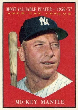 1961 Topps Mickey Mantle #475 Baseball Card