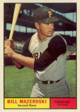 1961 Topps Bill Mazeroski #430 Baseball Card