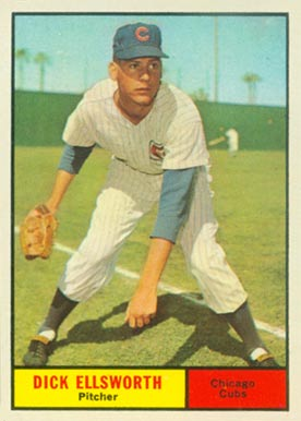 1961 Topps Dick Ellsworth #427 Baseball Card