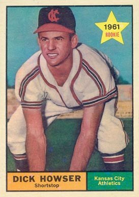 1961 Topps Dick Howser #416 Baseball Card