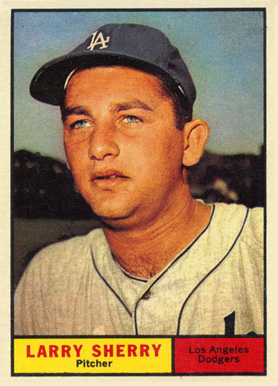 1961 Topps Larry Sherry #412 Baseball Card