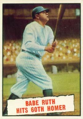 1961 Topps Babe Ruth #401 Baseball Card