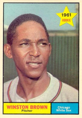 1961 Topps Winston Brown #391 Baseball Card