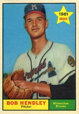 1961 Topps Bob Hendley #372 Baseball Card