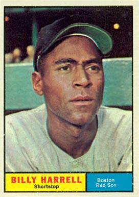 1961 Topps Billy Harrell #354 Baseball Card