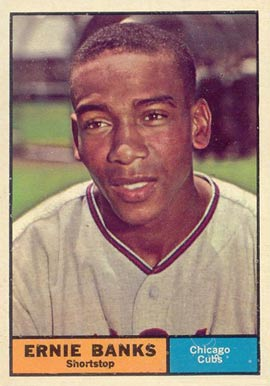1961 Topps Ernie Banks #350 Baseball Card