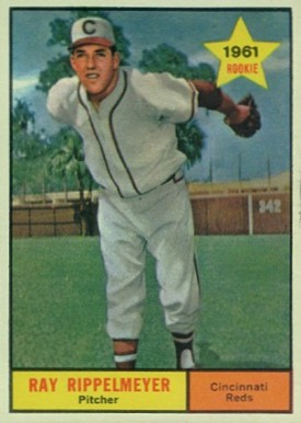 1961 Topps Ray Rippelmeyer #276 Baseball Card