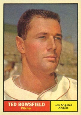 1961 Topps Ted Bowsfield #216 Baseball Card