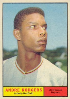 1961 Topps Andre Rodgers #183 Baseball Card