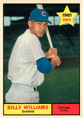 1961 Topps Billy Williams #141 Baseball Card