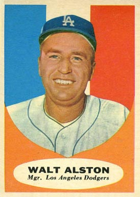 1961 Topps Walter Alston #136 Baseball Card