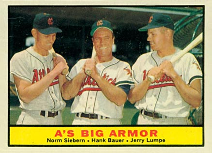 1961 Topps Hank Bauer #119 Baseball Card