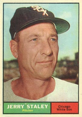1961 Topps Gerry Staley #90 Baseball Card