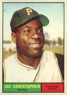 1961 Topps Joe Christopher #82 Baseball Card