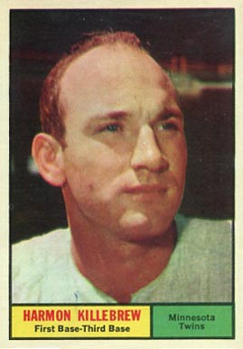 1961 Topps Harmon Killebrew #80 Baseball Card