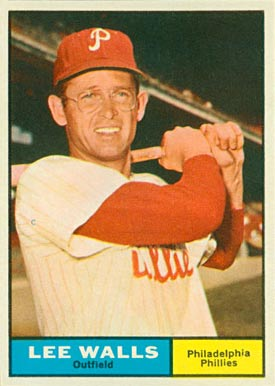 1961 Topps Lee Walls #78 Baseball Card