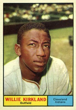 1961 Topps Willie Kirkland #15 Baseball Card