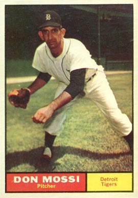 1961 Topps Don Mossi #14 Baseball Card