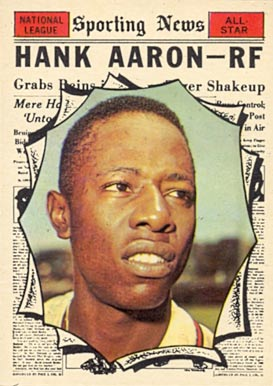 1961 Topps Hank Aaron #577 Baseball Card