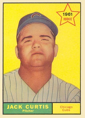 1961 Topps Jack Curtis #533 Baseball Card