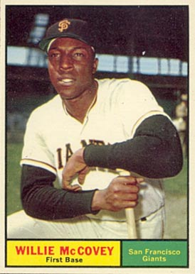 1961 Topps Willie McCovey #517 Baseball Card