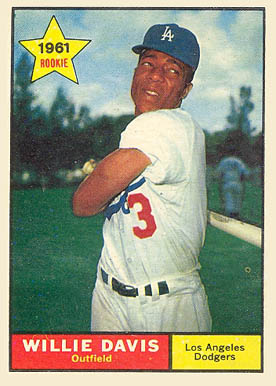 1961 Topps Willie Davis #506 Baseball Card