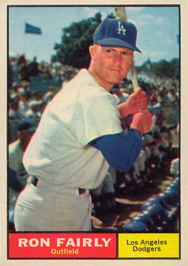 1961 Topps Ron Fairly #492 Baseball Card
