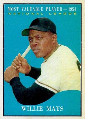 1961 Topps Willie Mays #482 Baseball Card