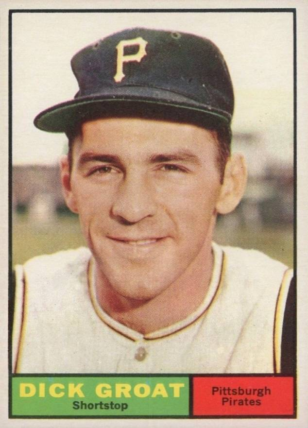 1961 Topps Dick Groat #1 Baseball Card