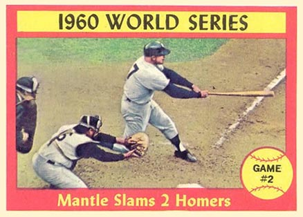 1961 Topps World Series Game #2 #307 Baseball Card