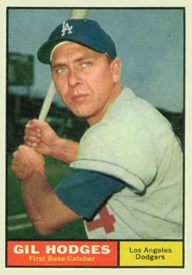 1961 Topps Gil Hodges #460 Baseball Card