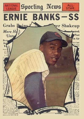1961 Topps Ernie Banks #575 Baseball Card