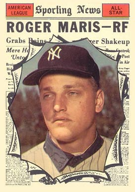 1961 Topps Roger Maris #576 Baseball Card