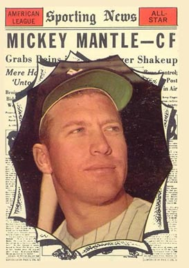 1961 Topps Mickey Mantle #578 Baseball Card