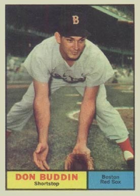 1961 Topps Don Buddin #99 Baseball Card