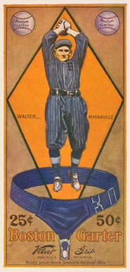 1914 Boston Garter Color Rabbit Maranville #9 Baseball Card