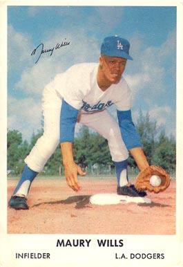 Maury Wills Baseball Cards
