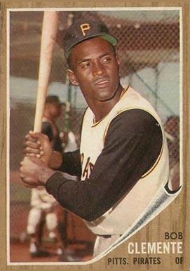 1962 Topps Roberto Clemente 10 Baseball Card