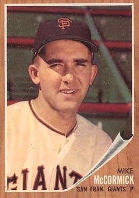 1962 Topps Mike McCormick #107 Baseball Card