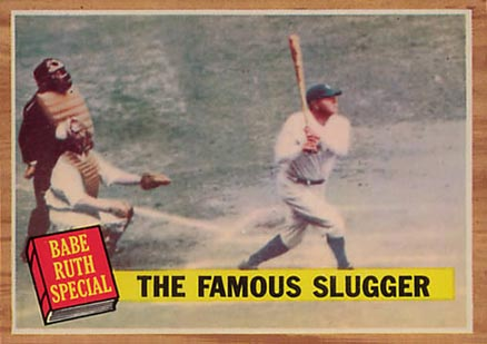 1962 Topps Babe Ruth #138 Baseball Card