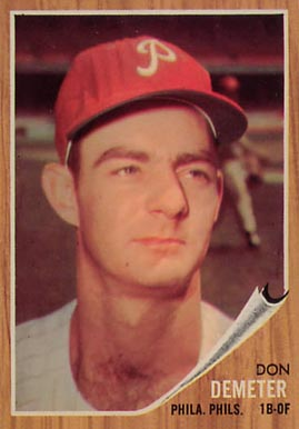 1962 Topps Don Demeter #146 Baseball Card