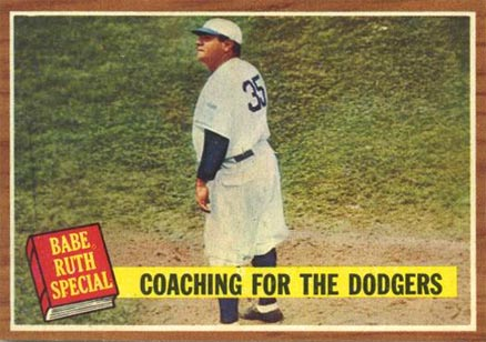 1962 Topps Coaching For The Dodgers #142 Baseball Card
