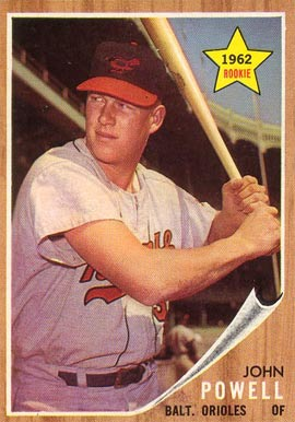 1962 Topps Boog Powell #99 Baseball Card