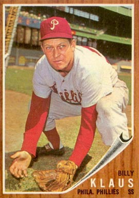 1962 Topps Billy Klaus #571 Baseball Card