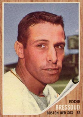 1962 Topps Eddie Bressoud #504 Baseball Card
