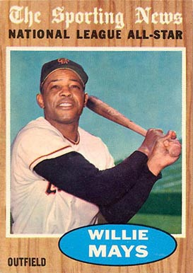 1962 Topps Willie Mays #395 Baseball Card