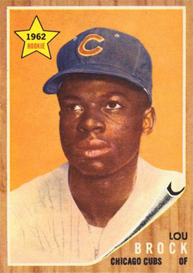 1962 Topps Lou Brock #387 Baseball Card