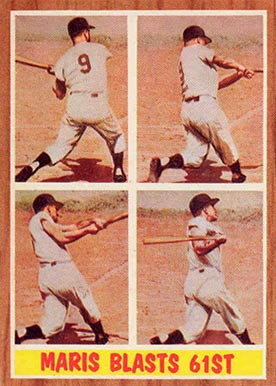 1962 Topps Roger Maris #313 Baseball Card